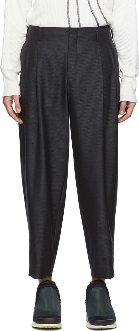 Comme Des Garçons Homme Plus Grey Dobby Trousers