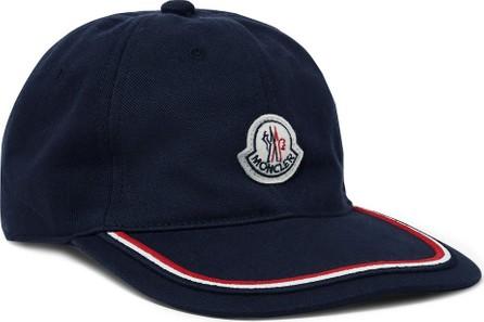 Moncler Logo-Appliquéd Cotton-Twill Baseball Cap