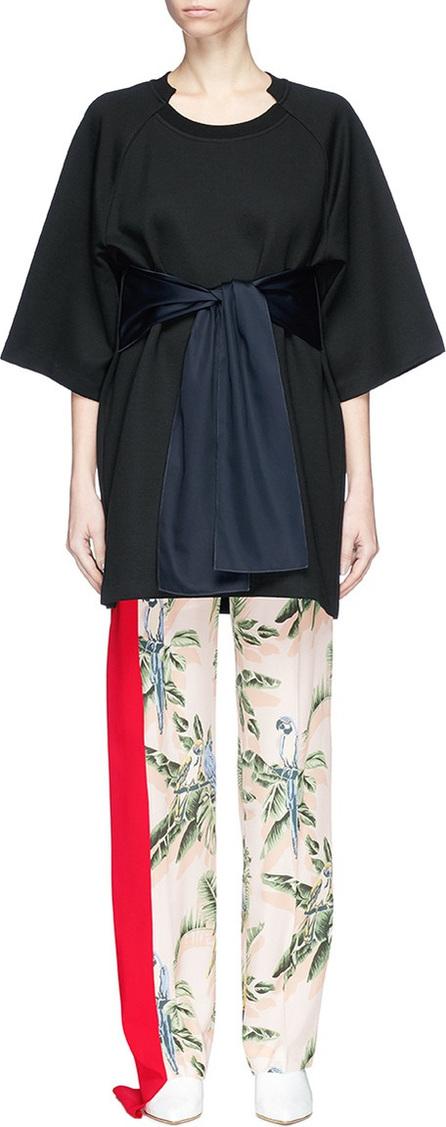 Stella McCartney Sash tie kimono sleeve top