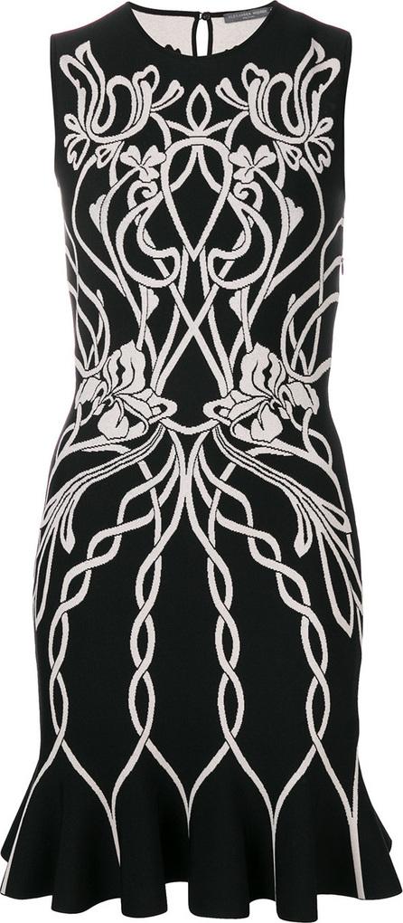 Knitted jacquard dress