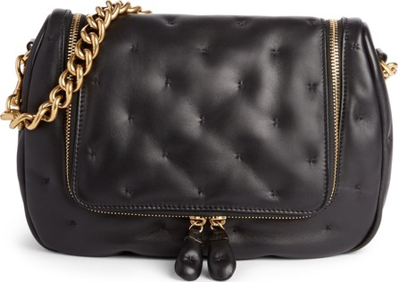 Anya Hindmarch Small Vere Chubby Lambskin Leather Satchel