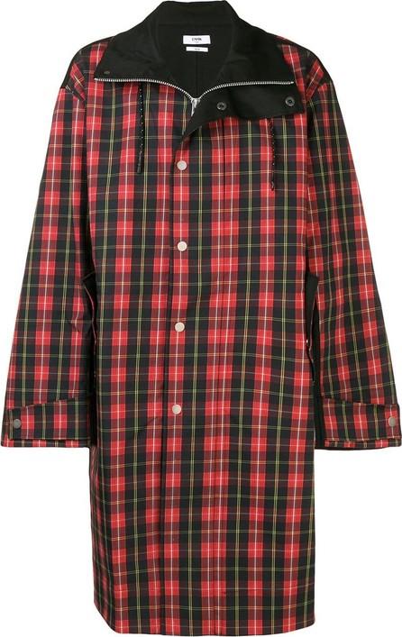 Cmmn Swdn Button check coat