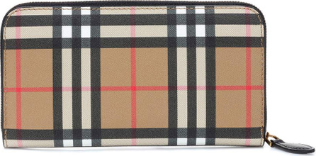 Burberry London England Vintage Check leather wallet