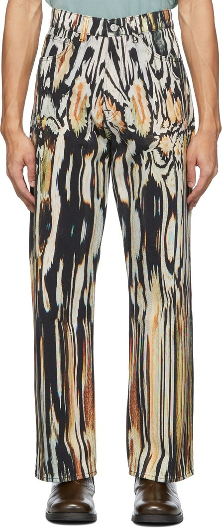 Our Legacy Multicolor Third Cut Jeans