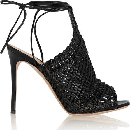 Gianvito Rossi Woven leather sandals