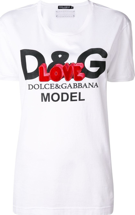 Dolce & Gabbana Love logo print T-shirt