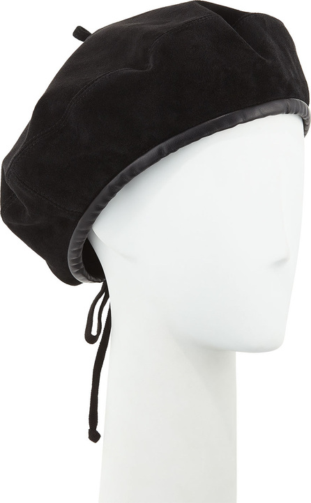 Eric Javits Kate Suede Adjustable Beret Hat