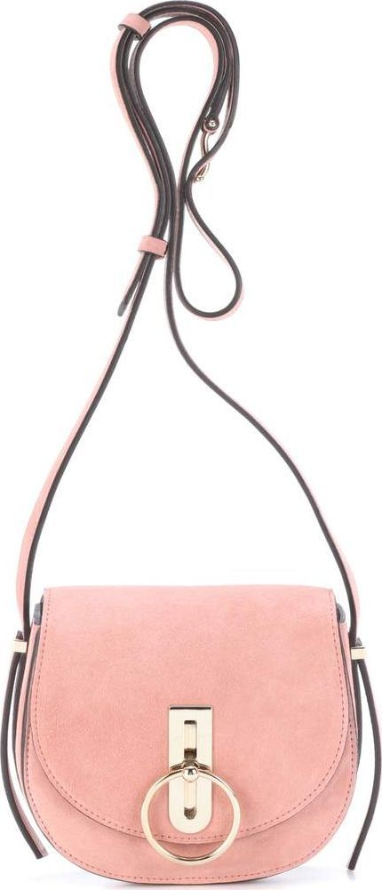 Nina Ricci Compas Small suede shoulder bag