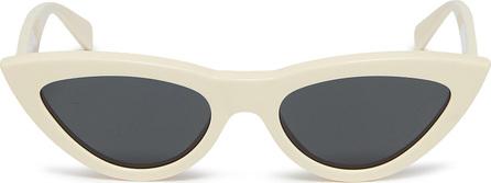 Celine Acetate narrow cat eye sunglasses