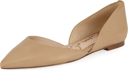 Sam Edelman Rodney Pointed-Toe Leather Flats