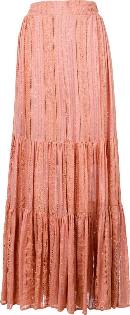 SUNDRESS Flared maxi skirt
