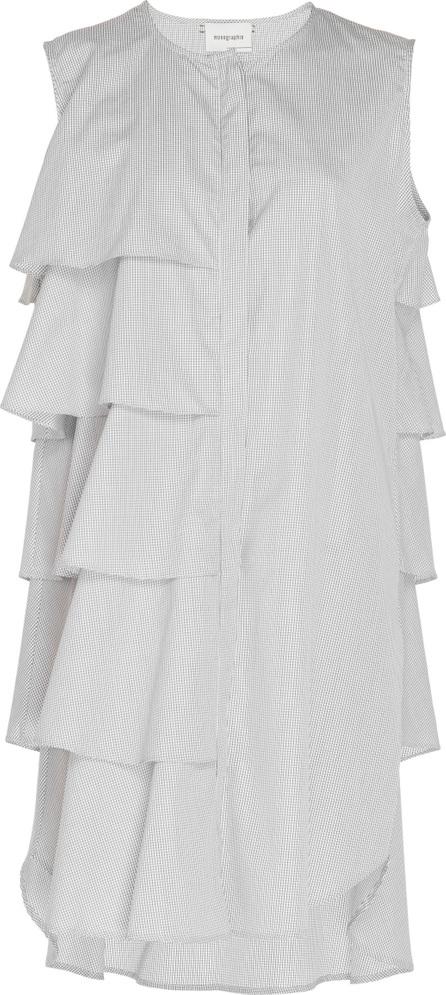 Monographie Tiered Ruffle Sleeveless Dress