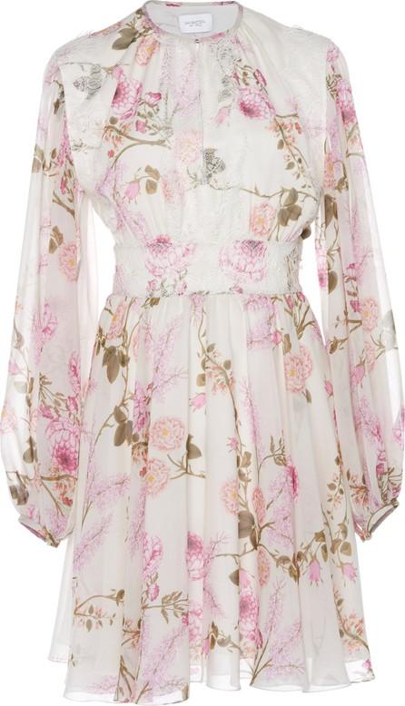 Giambattista Valli Floral-Print Silk-Chiffon Mini Dress