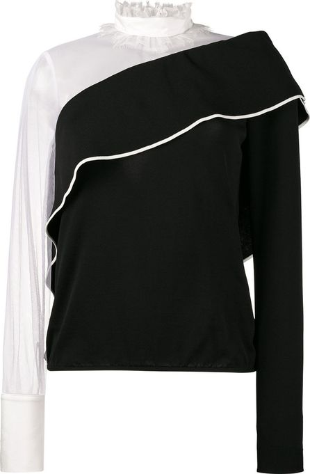 ADEAM Long Sleeved Asymmetric Blouse