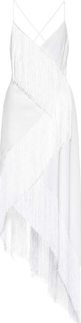 Givenchy Fringed wool dress