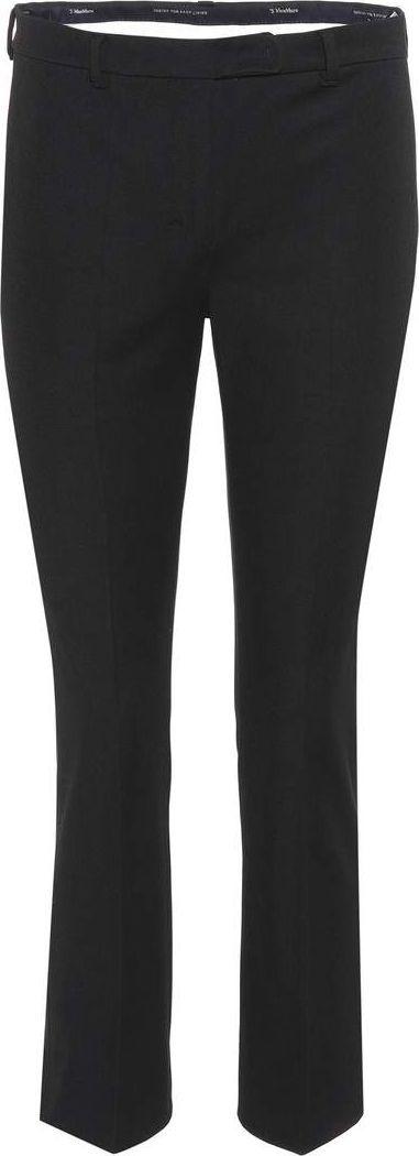 Max Mara Agrume cotton-blend trousers