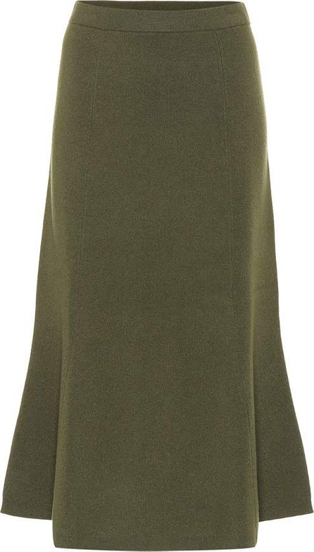 Joseph Flared wool skirt