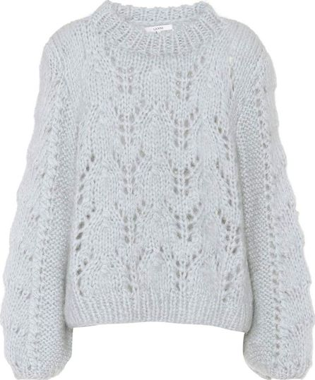 Ganni Faucher wool and mohair sweater