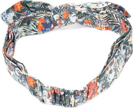 Maison Michel Danny printed cotton headband kdPDyYWx