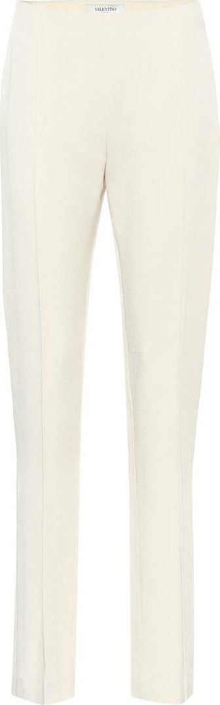 Valentino Crêpe cigarette pants