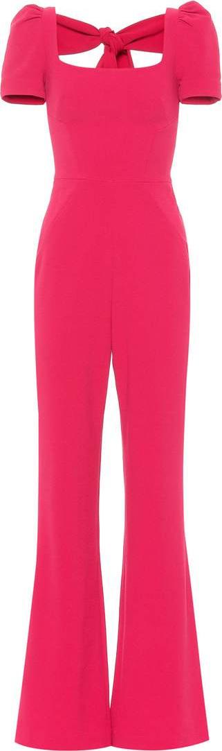 Rebecca Vallance Poppy crêpe jumpsuit