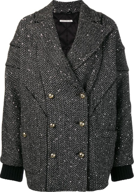 Alessandra Rich Oversized double-breasted coat