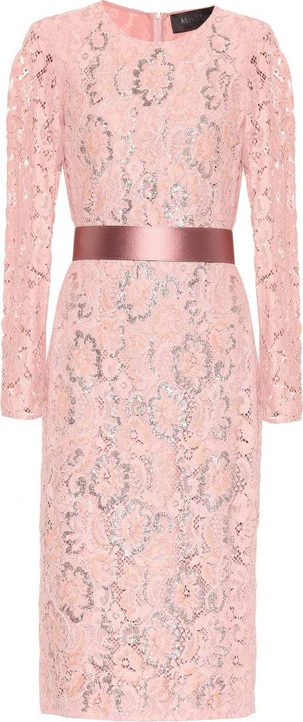 Max Mara Gala floral lace dress