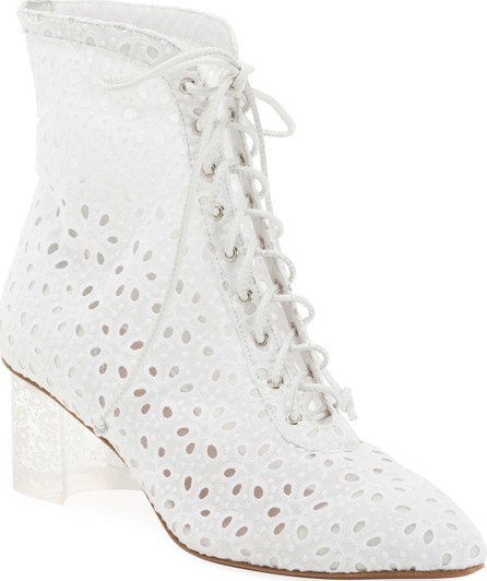 Alaïa Floral-Lace 50mm Booties
