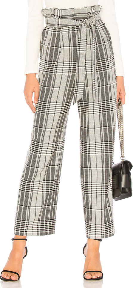 Alice + Olivia Farrel Paper Bag Pleated Pant