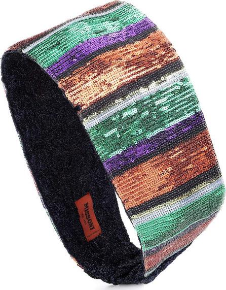 Missoni Sequined striped headband