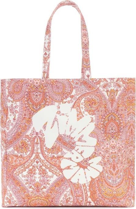 Zimmermann Exclusive to Mytheresa – Logo paisley canvas tote