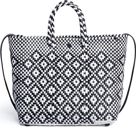 Truss Small woven diamond PVC shoulder bag