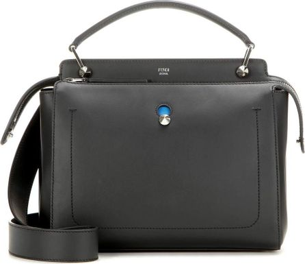 Fendi DotCom leather shoulder bag