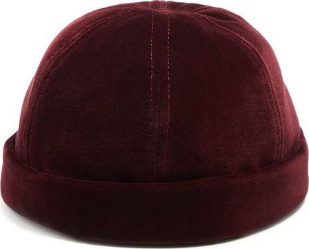 Maison Michel Calvin velvet hat