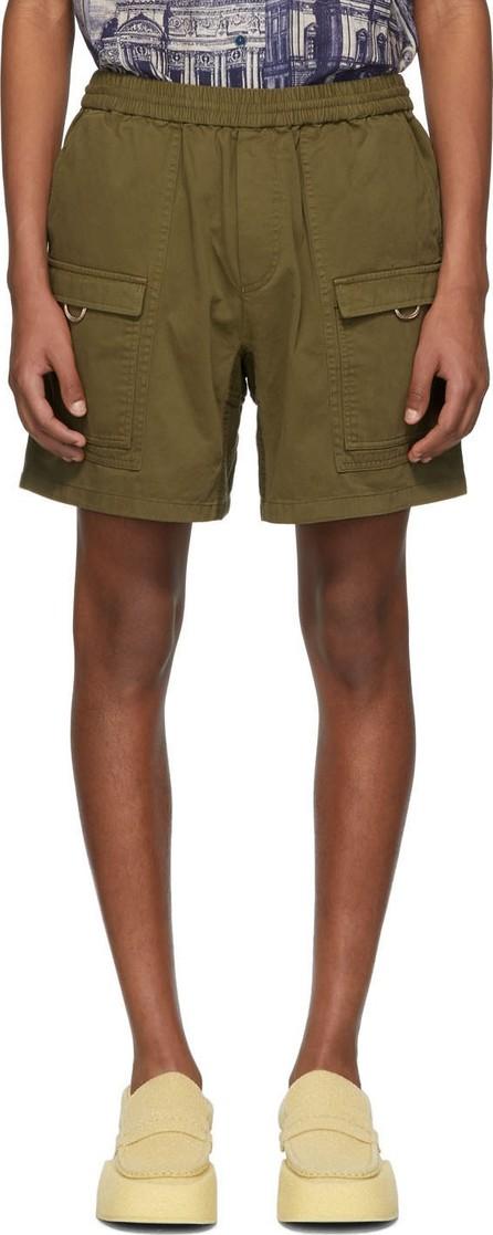 Acne Studios Green Rosso Shorts