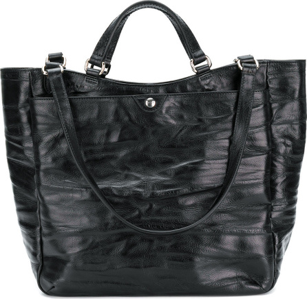 Al Duca D'Aosta 1902 Creased large tote bag