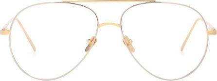 Linda Farrow Aviator glasses