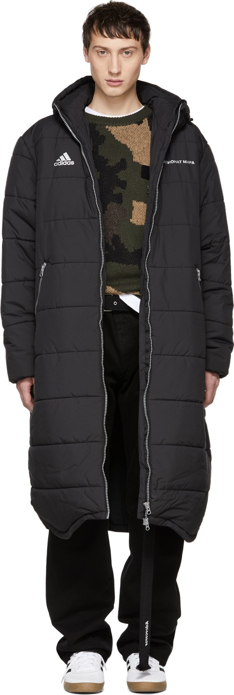 a5f8d4911 Black adidas Originals Edition Long Puffer Jacket