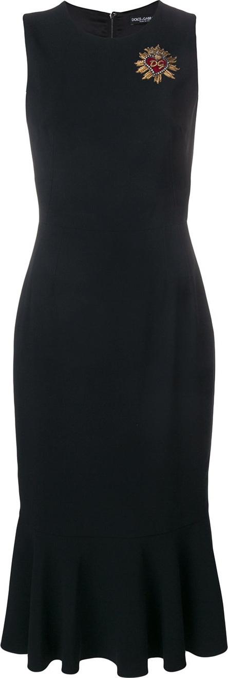 Dolce & Gabbana Fitted classic sleeveless dress