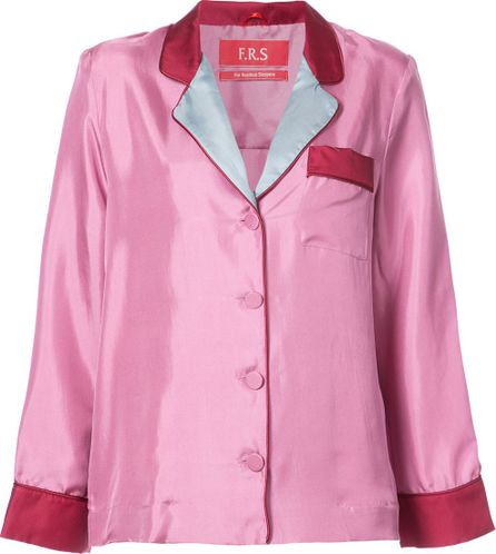 F.R.S For Restless Sleepers classic fitted blouse