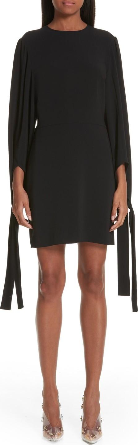 Stella McCartney Tie Cuff Stretch Cady Dress