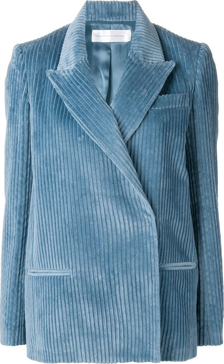 VICTORIA, VICTORIA BECKHAM Corduroy fitted blazer