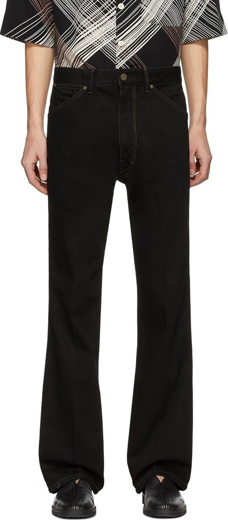 Lemaire Black Bootcut Jeans