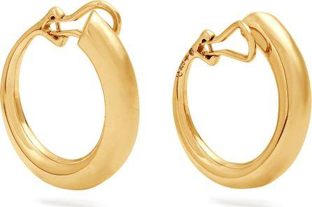 Charlotte Chesnais Monie gold-plated clip-on earrings