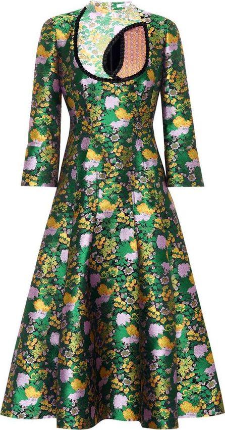 Erdem Geneva jacquard dress