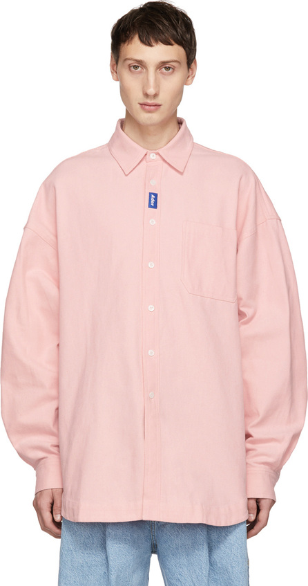 ADER error Pink Oxford TOD Shirt