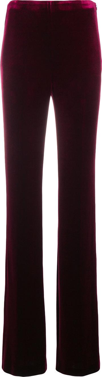 Miu Miu Long flared trousers