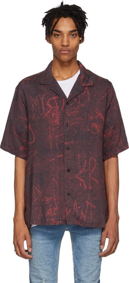 Ksubi Red & Black Resort Scribbles Shirt