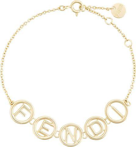 Fendi logo chain bracelet