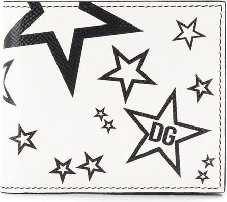 Dolce & Gabbana Star print wallet